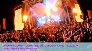 Martin Garrix - Animals and Calvin Harris - C.U.B.A [Sam Barlow's Mashup]