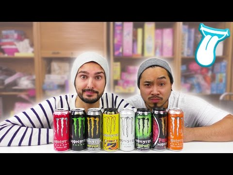 UTLIMATIVER ENERGY MONSTER DRINK TEST | KAAN UND YOSHI drehen DURCH! | IN ALLER MUNDE
