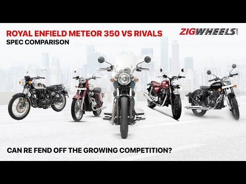 RE Meteor 350 Vs Honda CB350 Vs RE Classic 350 Vs Jawa Vs Imperiale 400 | Spec Comparo