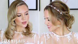 Beautiful Prom & Wedding Hairstyles For Short/Medium Hair   Luxy Hair