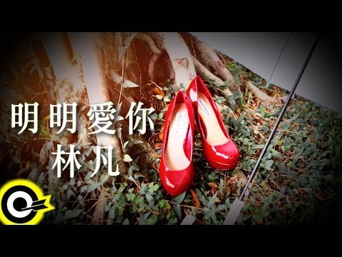 林凡 Freya Lim【明明愛你】Official Lyric Video HD (三立週五華劇「我的自由年代」片尾曲)