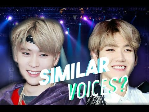 KPOP IDOLS WITH SIMILAR VOICES