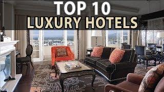 Top 10 Luxury Hotels in Los Angeles!