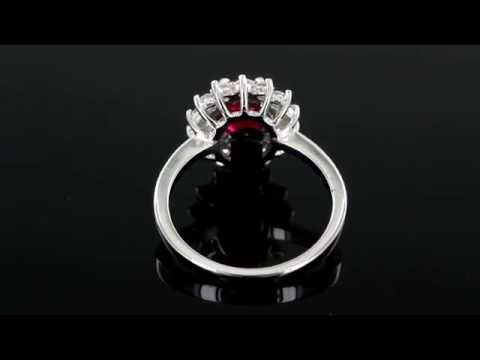 Browns Family Jewellers Ruby and Diamond Ring