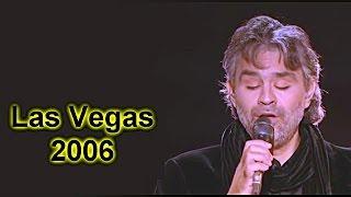 Andrea Bocelli In Las Vegas 2006