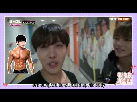 [ENG SUB] 151219 BTS- Show champion backstage