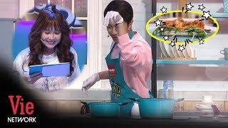 Cris Devil Và Bà Xã Mai Quỳnh Anh Lần Đầu Tình Tứ Vào Bếp Nấu Ăn Sau Đám Cưới l Khi Chàng Vào Bếp