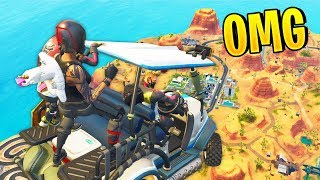FUNNIEST GOLF KART PLAYS! | Fortnite Best Moments #38 (Fortnite Funny Fails & WTF Moments)