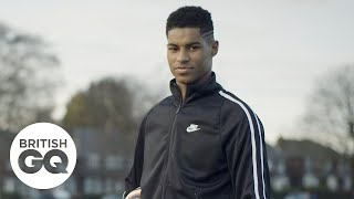 The places in Manchester that shaped Marcus Rashford   British GQ