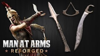 Spear of Leonidas – Assassin's Creed: Odyssey – MAN AT ARMS: REFORGED