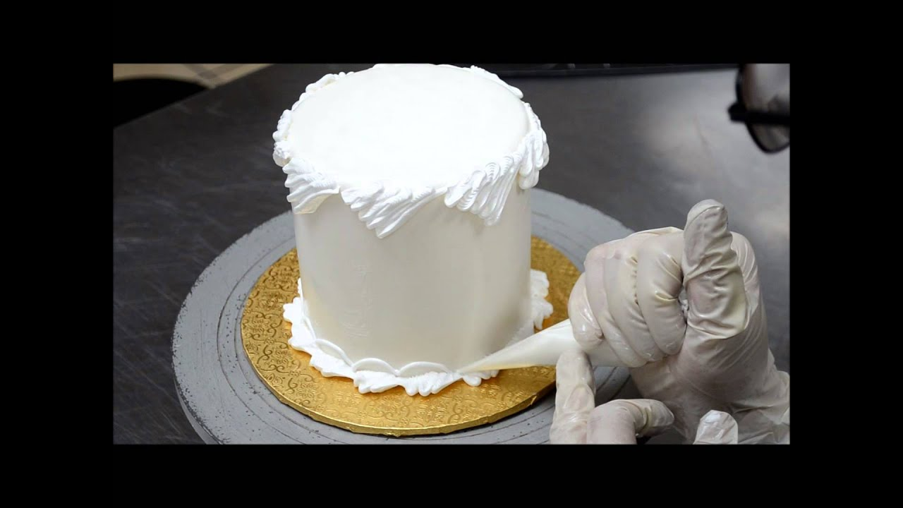 Fast Way To Decorate Cake With Buttercream Icing
