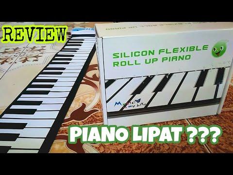 Review Fleksibel Piano | Piano Mini yang bisa DILIPAT dan DIGULUNG  !!!
