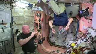 Drinking in Space: Galley Demo on ISS