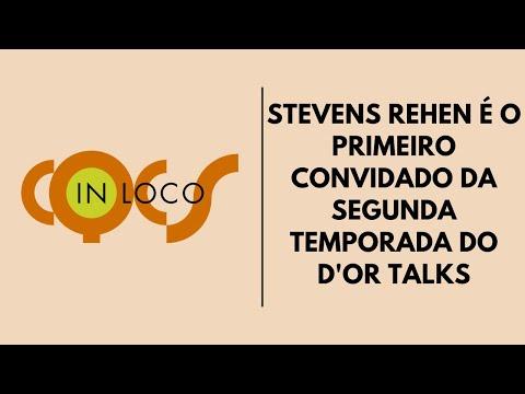 Imagem post: Stevens Rehen é o primeiro convidado da segunda temporada do D'Or Talks
