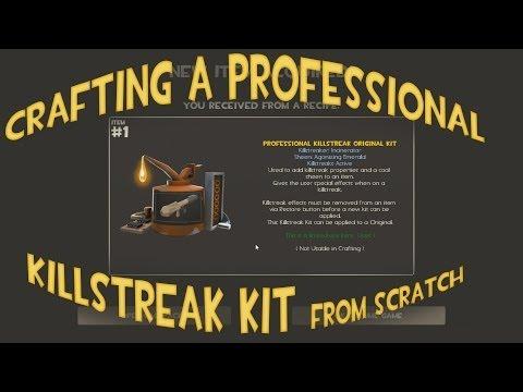Crafting A Professional Killstreak Kit From Scratch