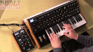 Kraft Music - Moog Sub 37 Analog Synthesizer Demo