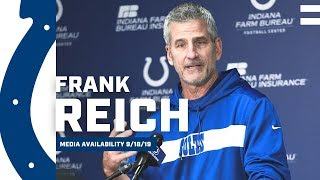 Frank Reich Preparing Colts To Play Their Best Football