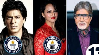 যে কারণে গিনেস বুক-এ রেকর্ড রয়েছে এই ৮ বলিউড সেলিব্রেটির | Bollywood Celebrities in Guinness Book
