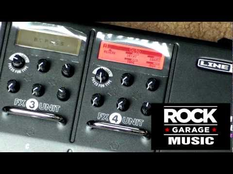 Line 6 M13 Pedal Video #4 - Reverb Effects