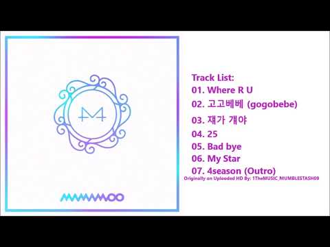 [FULL ALBUM] 마마무(MAMAMOO) - White Wind (9th Mini AIbum)