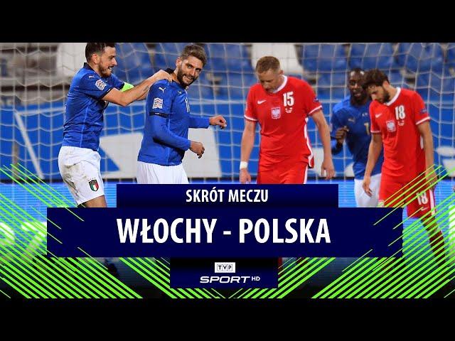 Włochy 2-0 Polska [VIDEO SKRÓT MECZU]