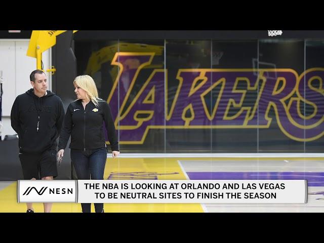 NBA/聯盟總裁6月宣布複賽與否 最有可能在迪士尼舉行