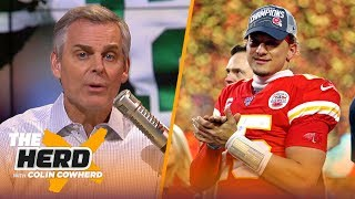 49ers could 'smell the fraudulent Packers fear,' Colin applauds Andy Reid & Chiefs | NFL | THE HERD