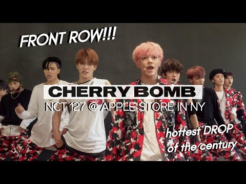 170625 NCT 127 『 CHERRY BOMB 🍒💣 』 @ APPLE STORE IN NEW YORK | THE DROP RIGHT IN FRONT OF ME OMG