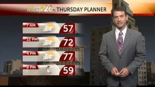 Augusta, GA weather forecast for Thursday, 11/07/2013