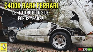 I Bought an Abandoned Ferrari 512 BBi Sat Outside Rotting for 12 Years