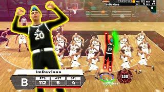 I SCORED 112 POINTS IN THE JORDAN REC CENTER. I BROKE NBA 2K19. USING THE BEST JUMPSHOT