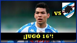 """Así jugó Hirving """"CHUCKY"""" Lozano vs sᴀᴍᴘᴅᴏʀɪᴀ - 11 abril 2021 ⚽"""
