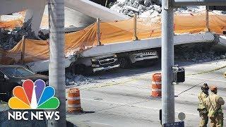 Watch Live: Bridge collapses at Florida International University near Miami