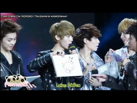 [Thai Sub FANCAM]120705 EXO-M Drawing Game [Rhino] at China Love Big Concert Recording [Re-Upload]