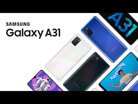 video Samsung Galaxy A31