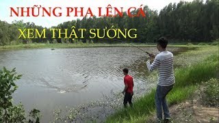 Snake fishing, the phases of the fish pou phung fishing (full HD)