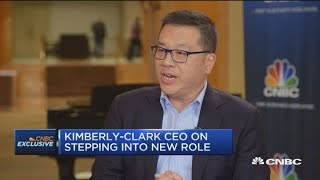 Kimberly-Clark's new CEO Michael Hsu on new role