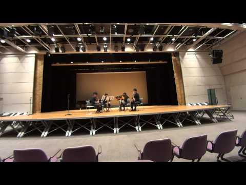 Tsukuba Saxophone Quartet - Thierry Escaich - Tango Virtuoso
