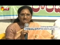 We Will Fight Until get Special Status for AP says YSRCP- Vasireddy Padma