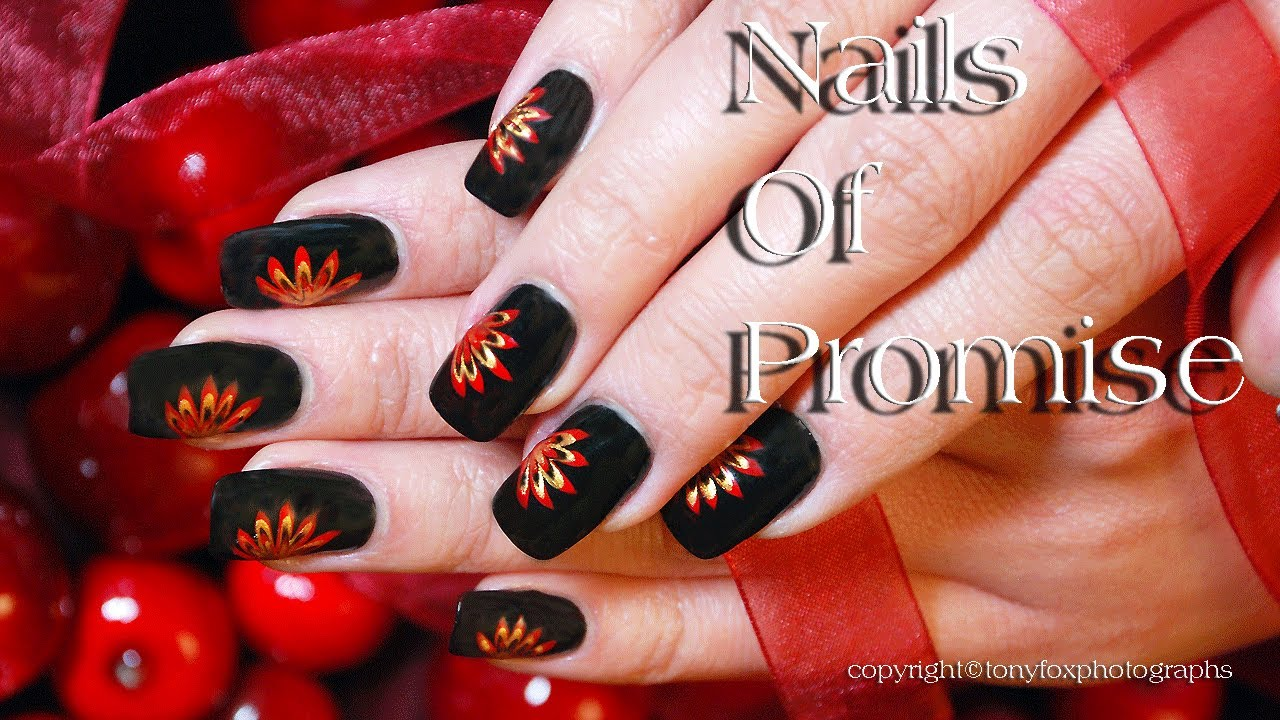 Easy Beginners Live Nail Art Tutorial Step By Step Nails Of Promise Youtube