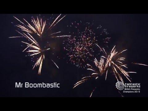 Fantastic Fireworks Mr Boombastic - 84 shot firework