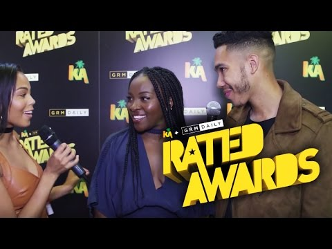 Ray Blk shows us how to dance and discusses her performance at the Rated Awards