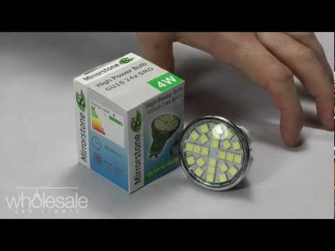 Introducing the GU10 24 SMD LED Spot Light @ Wholesale LED Lights