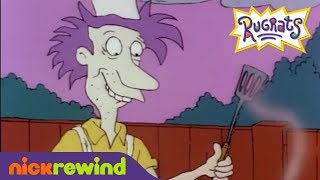 Stu Pickles Loves A Good Barbecue | Rugrats | NickRewind