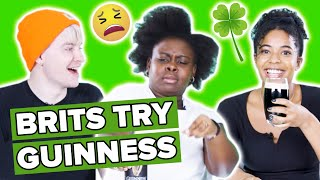 Brits Try Guinness For The First Time