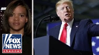 Candace Owens speaks on President Trump Michigan rally