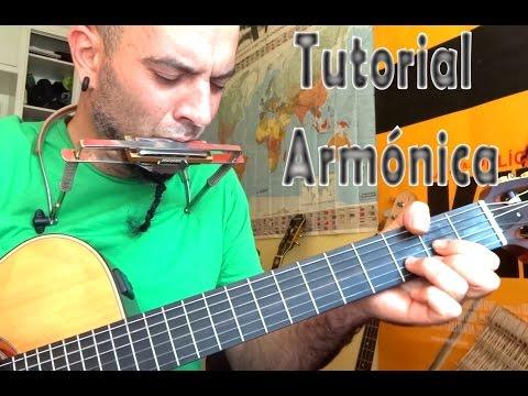 Como tocar la Armónica y la Guitarra al mismo tiempo Tutorial Principiantes