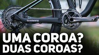 Bikers Rio Pardo | Vídeos | Uma coroa ou duas coroas no mountain bike, qual é melhor?