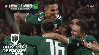 ¡GOLAZO! 'Chucky' Lozano | Bélgica 2-3 México