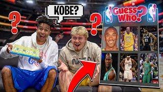 NBA Guess Who Game vs. Jiedel *2000s NBA SUPERSTARS*